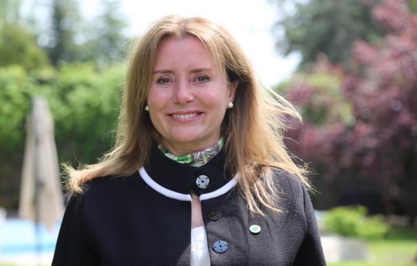 Nuria Martínez, candidata de Tercera Edad en Acción a la Presidencia de la Comunidad de Madrid.