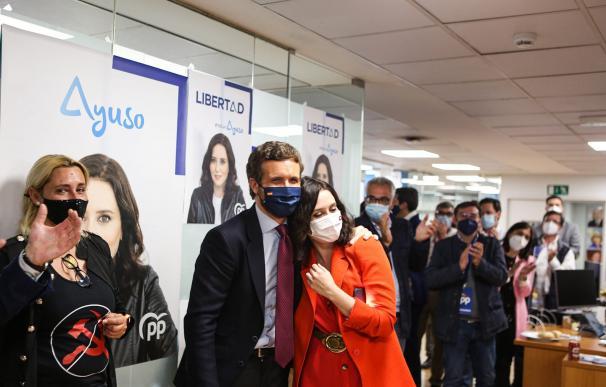 Ayuso arrasa pero necesitará a Vox; Moncloa e Iglesias pierden el órdago