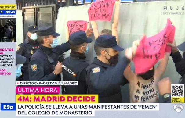 Protestas de Femen