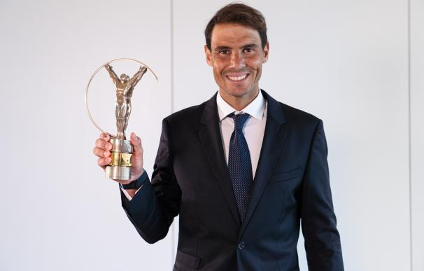 El tenista español Rafael Nadal gana su cuarto Laureus LAUREUS ACADEMY 6/5/2021