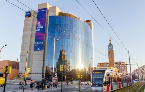 La sede de Hiberus en Zaragoza.