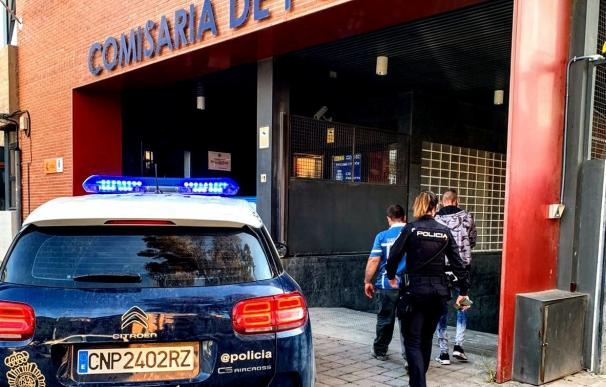 La Policía Nacional entrada