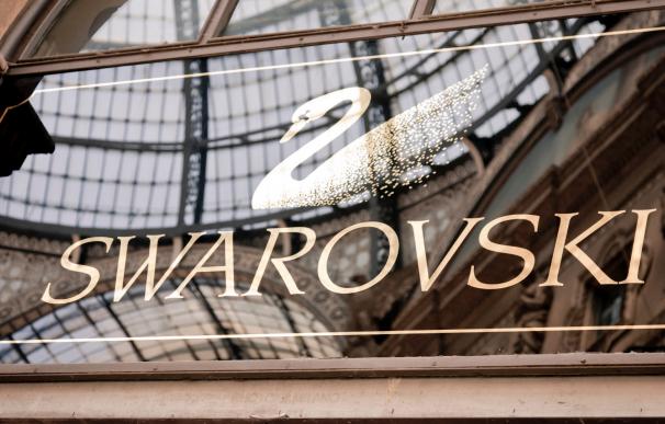 Tienda de joyas de lujo de Swarovski.