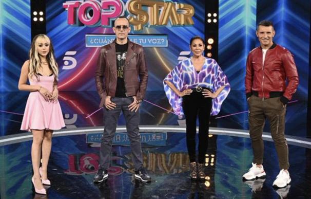 Jesús Vázquez es el presentador de este nuevo talent show con un jurado compuesto por Risto Mejide, Isabel Pantoja y Danna Paola.