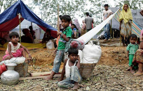 niños birmania