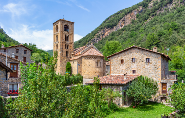 Beget (Girona), uno de los pueblos más bonitos de España.
