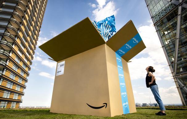 Un paquete del Amazon Prime Day.