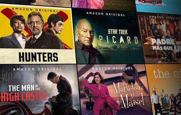Series y películas de Amazon Prime Video.