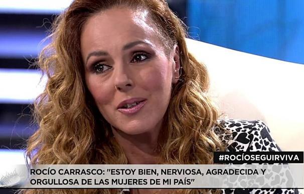 Rocío Carrasco en Chipiona