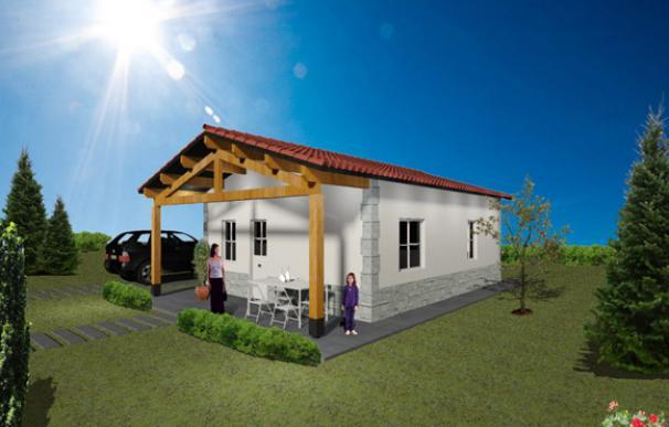 Casa prefabricada low cost madera