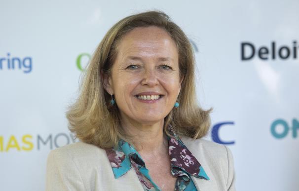 La vicepresidenta segunda y ministra de Asuntos Económicos y Transformación Digital, Nadia Calviño