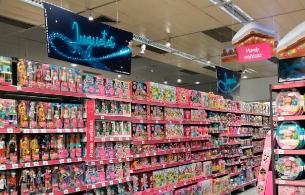 Sección de juguetes de El Corte Inglés