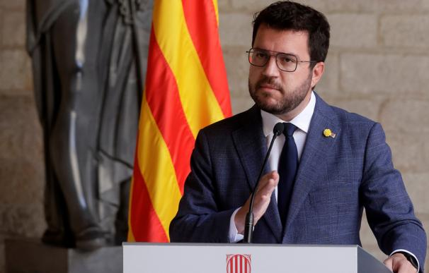 Aragonès veta en la mesa de diálogo a los condenados por el procés de Junts