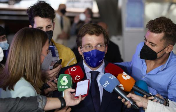 Almeida defiende la medida de Ayuso de poner fin a las restricciones nocturnas
