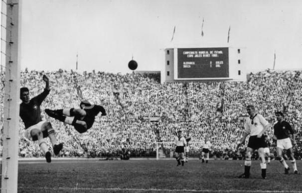 Imagen del Mundial de Chile en 1962