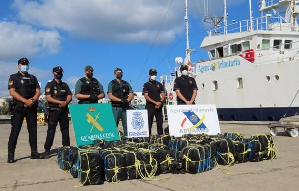 1.200 kilogramos de cocaína intervenidos