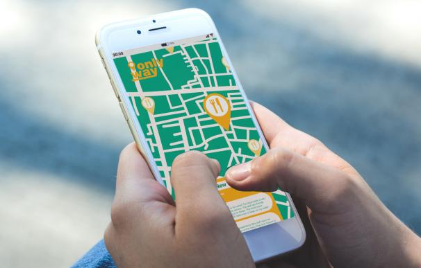 App para encontrar restaurantes.