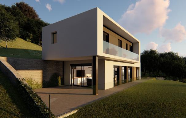Modelo Pedritxes de casas prefabricadas.