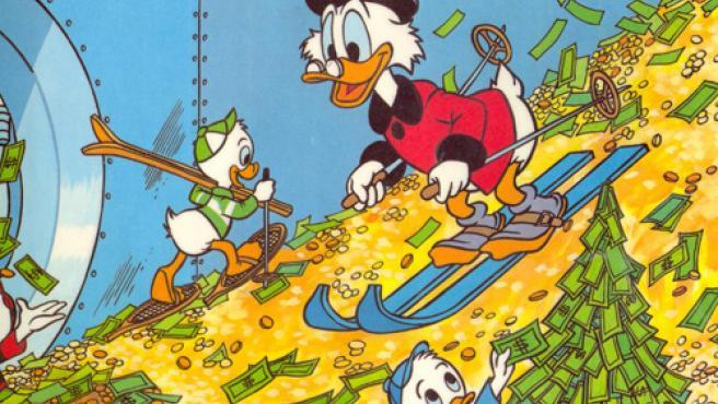 El Tío Gilito recupera el primer puesto de la lista de los ricos de  mentirijillas de Forbes