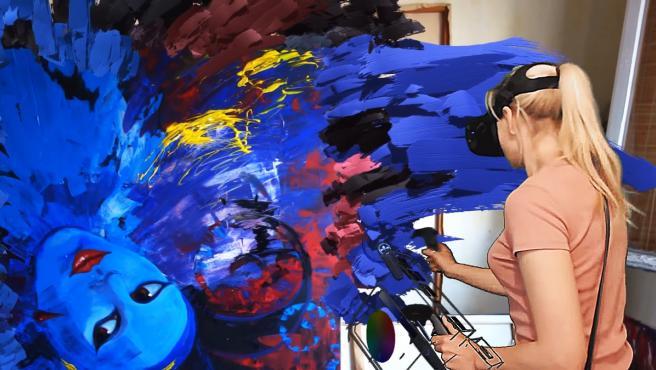 CASOS DE ÉXITO   La mujer que crea obras arte que solo puedes ver con gafas  de realidad virtual