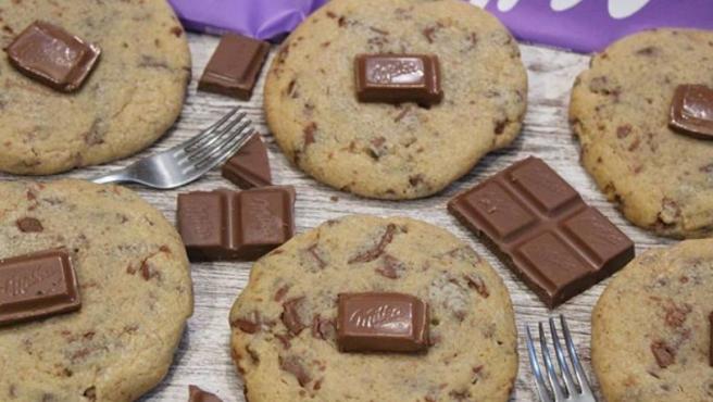 Las Galletas De Chocolate Milka Que Arrasan En Instagram Y Su Receta Es Fácil
