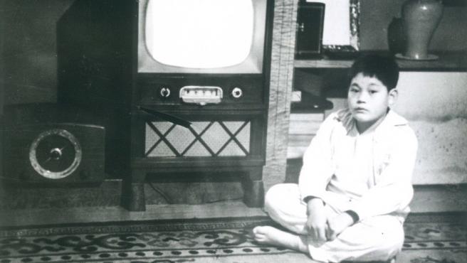 El presidente de Samsung y el más rico de Corea del Sur, Lee Kun-hee, en una imagen de niño.