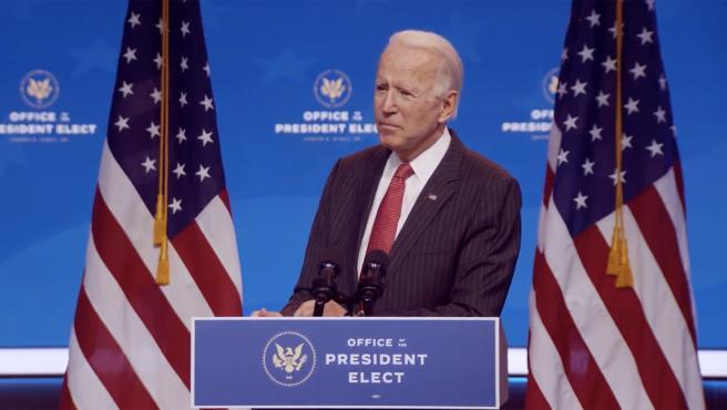 """Biden define como """"terroristas"""" a los 'trumpistas' que atacaron el Capitolio"""
