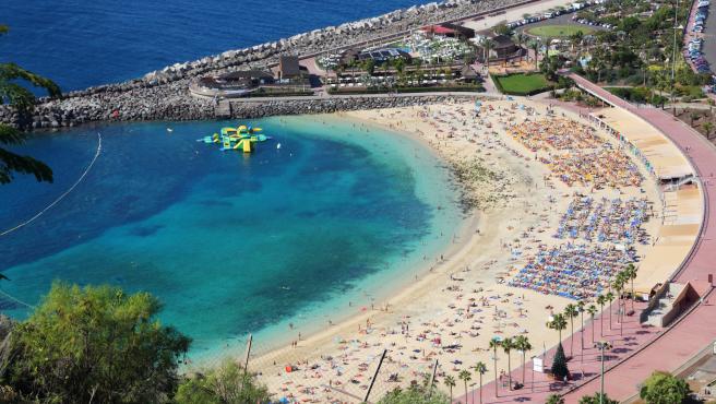 Las playas de Gran Canaria son espectaculares.