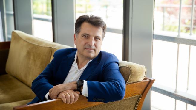 Koldo Muruzabal en las oficinas de Endesa.