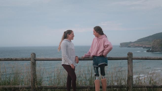 Silvia Mas y Audrey Pascual, jóvenes promesas del deporte español.