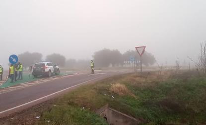 La Guardia Civil controla los accesos a municipios de Extremadura