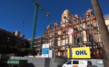 OHL, trayectoria en construcción hacia el euro por acción