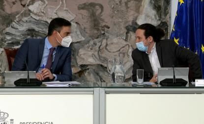 Último Consejo de Ministros de Pablo Iglesias