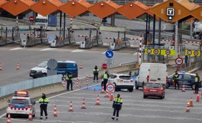 PCR para entrar en España por coche desde Francia