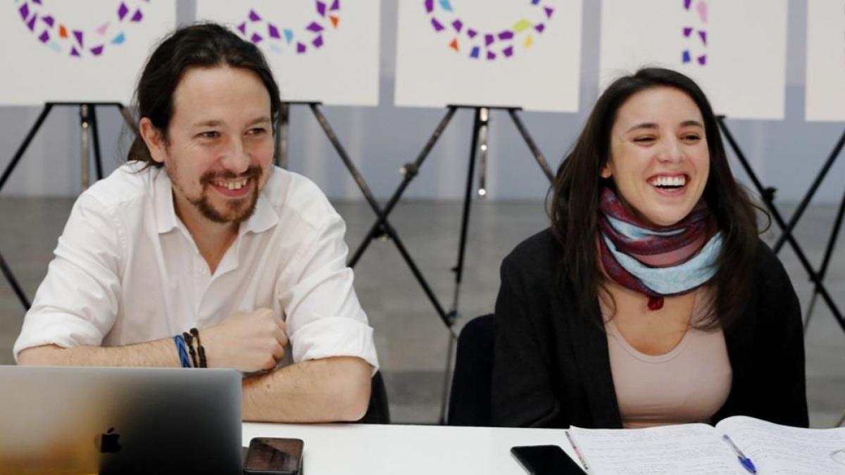 Irene Montero y Pablo Iglesias anuncian que esperan un nuevo bebé, una niña