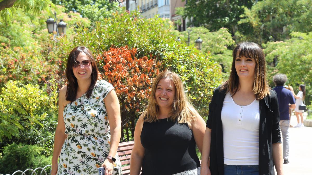 Eli, Esti y Nagore, las madres pioneras del IRPF: Nos habían dejado tiradas