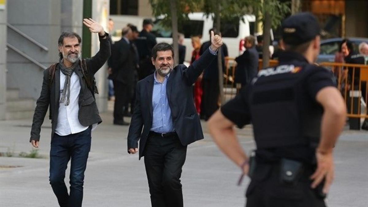 La Fiscalía insta al Supremo a suspender el tercer grado a los presos del procés