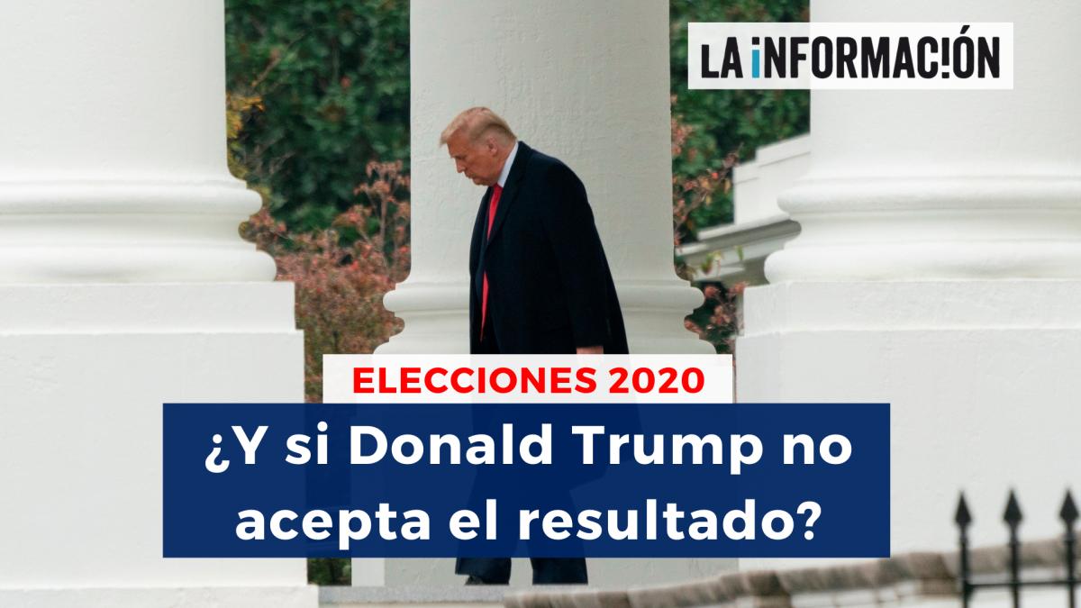 ¿Qué pasaría si Donald Trump pierde las elecciones y no acepta el resultado?
