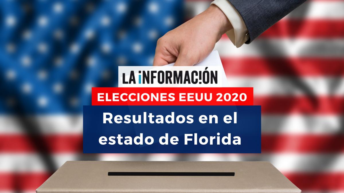Resultado de las elecciones de EEUU 2020: así ha votado el estado de Florida
