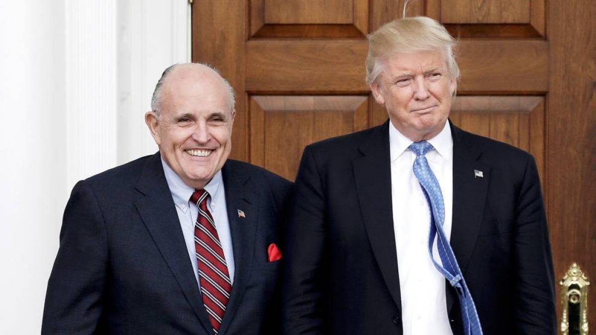 De Giuliani a su hijo Eric: la guardia pretoriana de la guerra legal de Trump