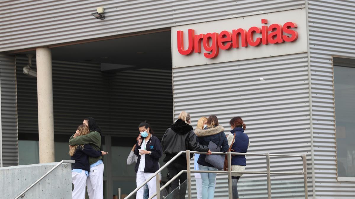 Enfermero de 41 años en Urgencias y padre de dos hijos, la víctima de Alcalá